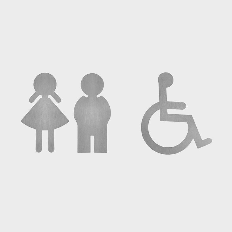 WC-Symbole