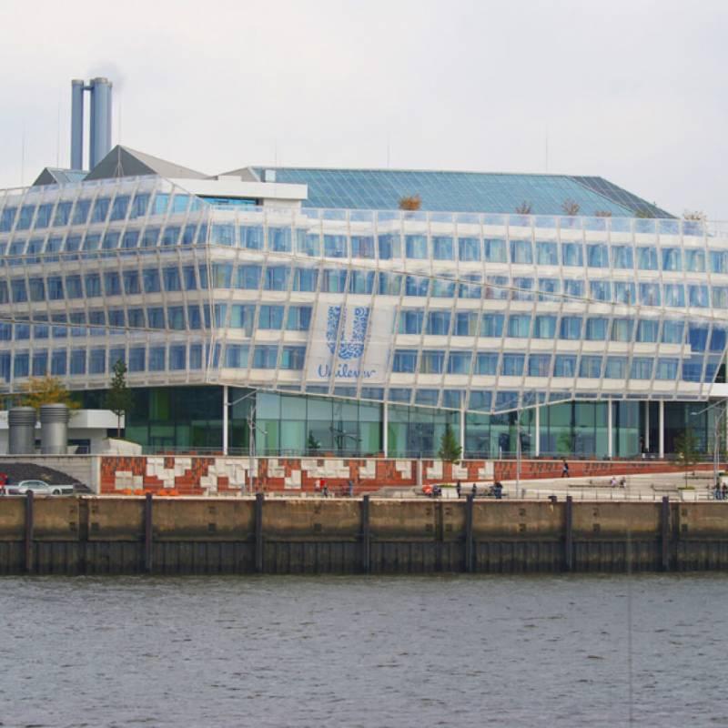 WC Trennwände im Unilever in Hamburg
