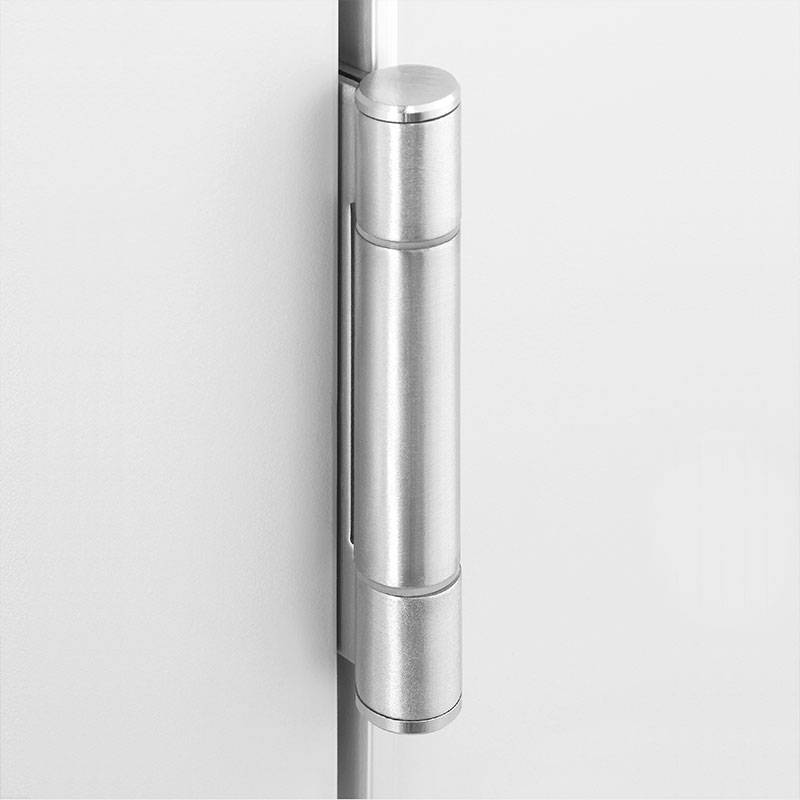 Triple knuckle stainless steel hinge