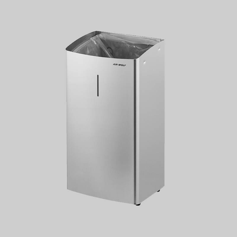 stainless steel waste garbage can