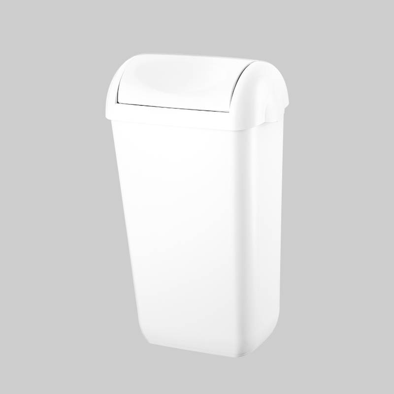 plastic waste garbage can