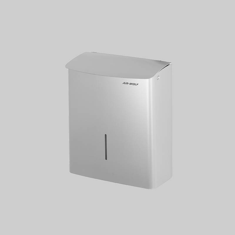 hygienic stainless steel waste garbage can