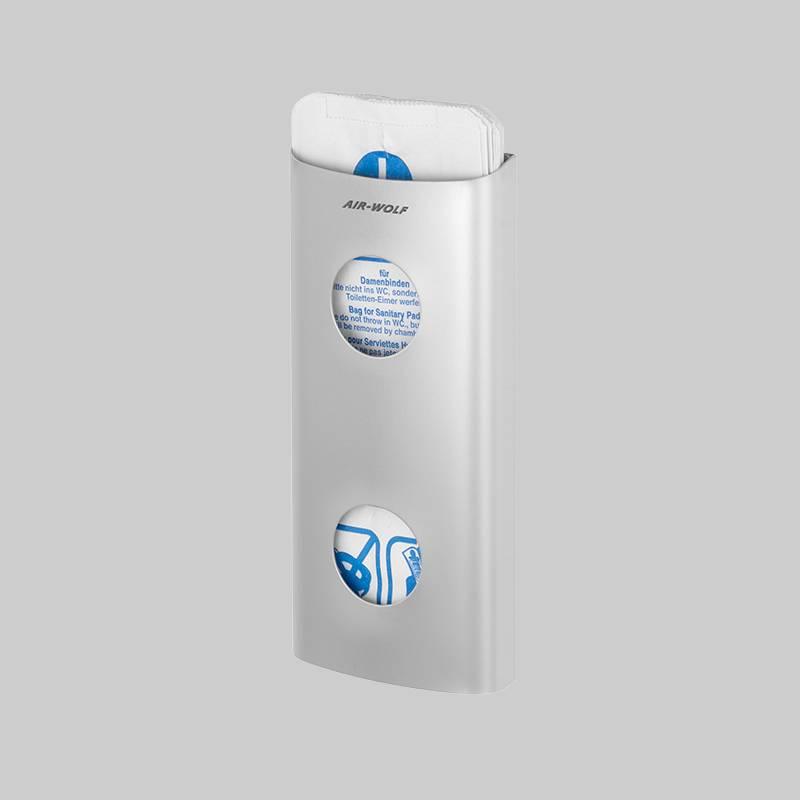 Hygiene bag dispenser stainless steel