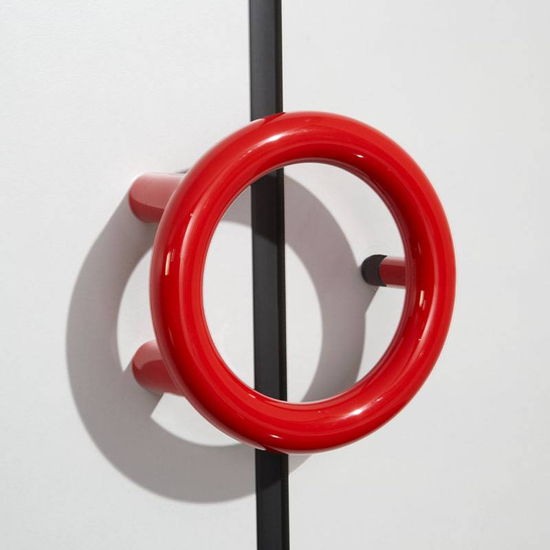 Safety ring handle