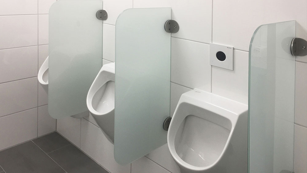 Urinal screens