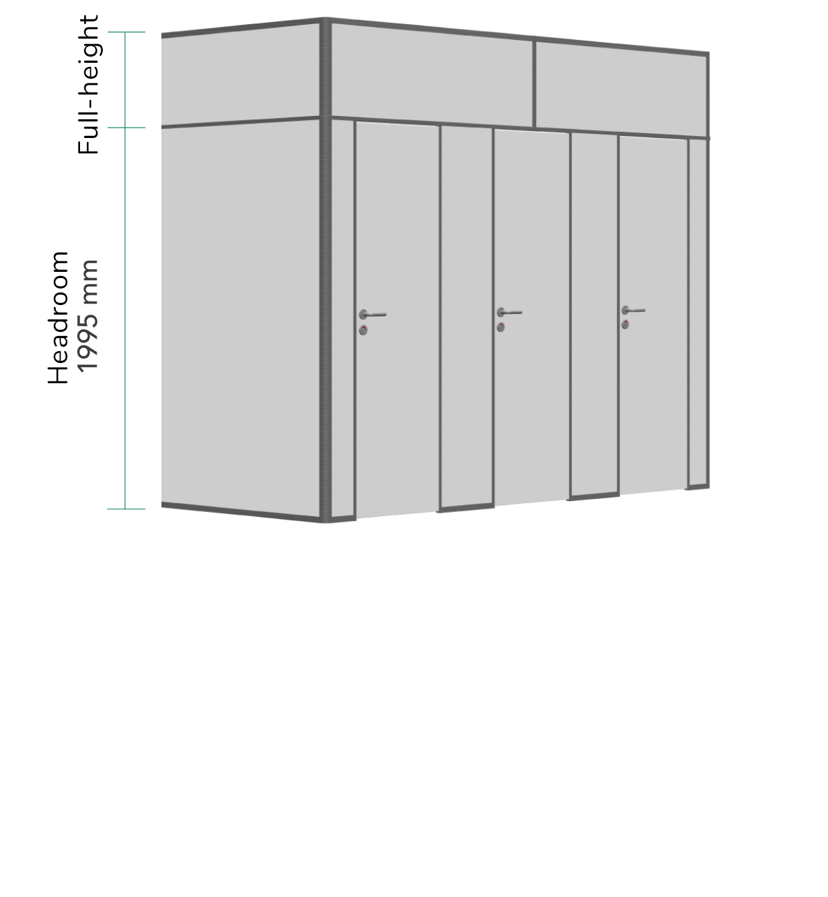 Full-height with panels